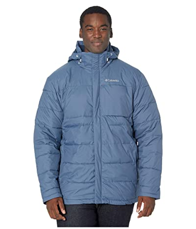 Columbia Big Tall Ridgeview Peaktm Hooded Jacket (Dark Mountain/Collegiate Navy) Men