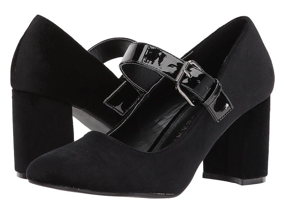 Athena Alexander Umma (Black Velvet) High Heels