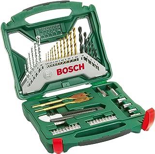 Bosch Home and Garden 2 607 019 327 Bosch X-Line Titanio - Maletín de 50 unidades para taladrar y atornillar, Set Piezas