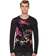 Versace Jeans - Tiger Graphic Long Sleeve Tee