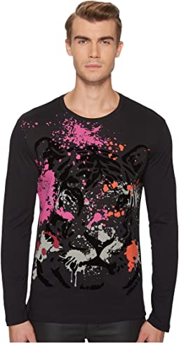 Tiger Graphic Long Sleeve Tee