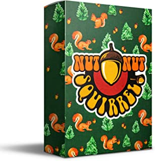 nut nut Squirrel! - Card Game for Adults, Teens & Kids. Outsmart Your Opponents and Keep Those Squirrels from Stealing You...