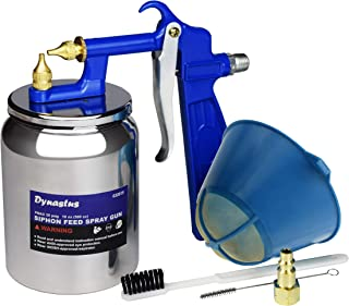 High Pressure Air Suction Siphon Feed Spray Gun for Spraying Oil-Based or Latex Paints, with Filtering and Cleaning Kits