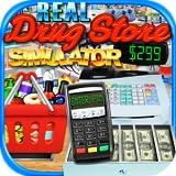 Real Drugstore, Credit Card & Cash Register Simulator - Kids Supermarket Games FREE