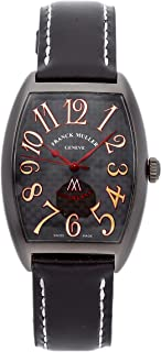 Franck Muller Curvex Mechanical (Automatic) Black Dial Mens Watch 2852 SC NO (Certified Pre-Owned)