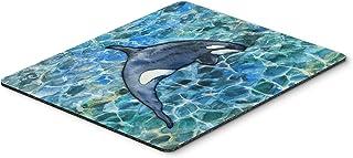 Caroline's Treasures BB5335MP Killer Whale Orca #2 Mouse Pad, Hot Pad or Trivet, Large, Multicolor
