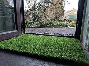 Nomow Emerald Doormat, Dark Green, 75 x 50 x 0.32 cm