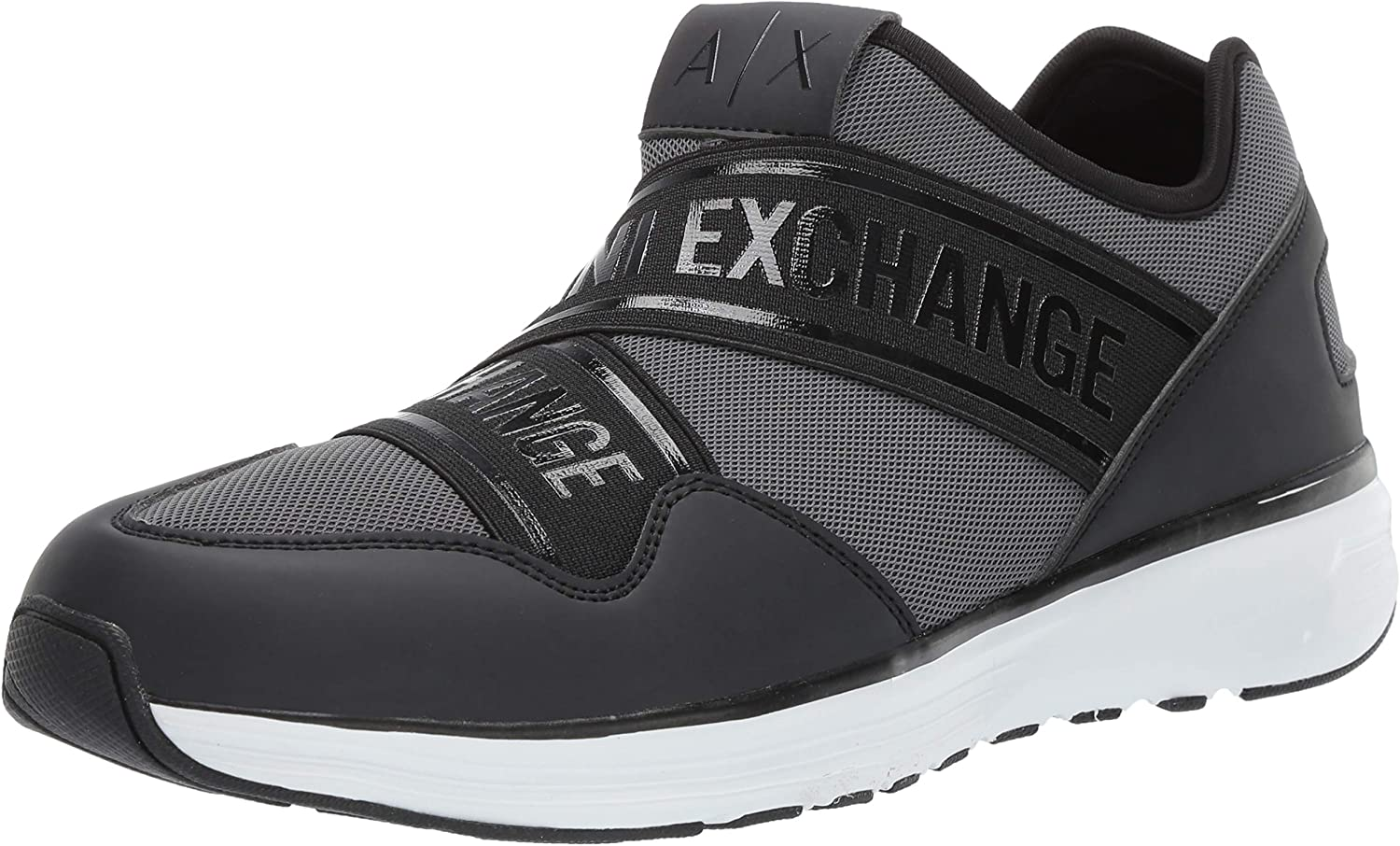 Armani Exchange Men's Low Top Slip on Sneaker