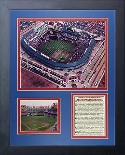 "Legends Never Die ""Texas Rangers Ballpark at Arlington"" Framed Photo Collage, 11 x 14-Inch"