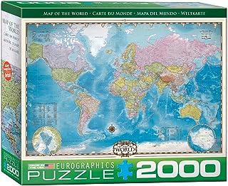Eurographics 2000pcs - Map of the World