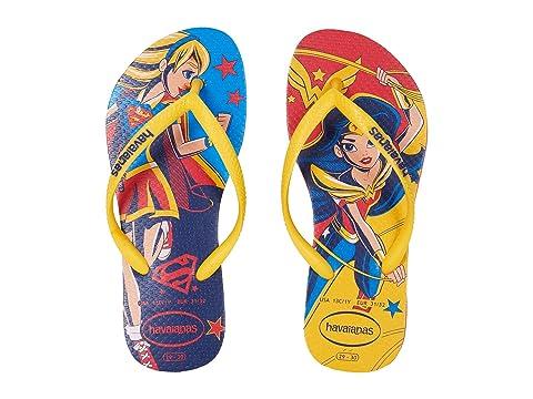 b6d86bfdd ... Havaianas Kids DC Super Hero Girls Flip-Flop (ToddlerLittle ...