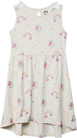 Unicorn Rainbows Naxios Dress (Little Kids/Big Kids)