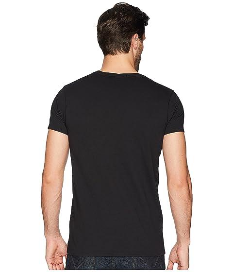 grandes coloridas cuello negro Scotch en y con con ilustraciones amp; soda redondo amp; Camiseta de wvqIBxfv7