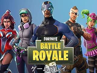 Fortnite Battle Royale ゲームプレイ