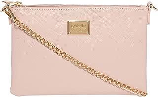 Pink Plain Peta Chain Crossbody Bag