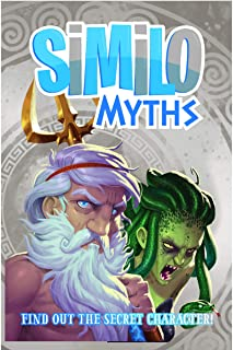 Horrible Games Similo Myths: A Fast Playing Family Card Game - Guess The Secret Mythical Character, 1 Player is The Clue G...