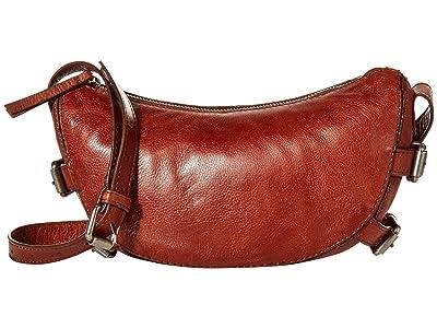 FRYE AND CO. Sindy Crossbody (Cognac) Handbags