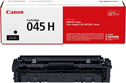 Canon Genuine Toner, Cartridge 045 Black, High Capacity,...