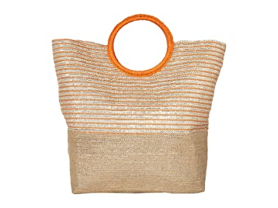 San Diego Hat Company BSB3710 (Natural/Orange) Tote Handbags