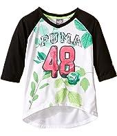 Puma Kids - PUMA® 48 Raglan V-Neck (Little Kids)