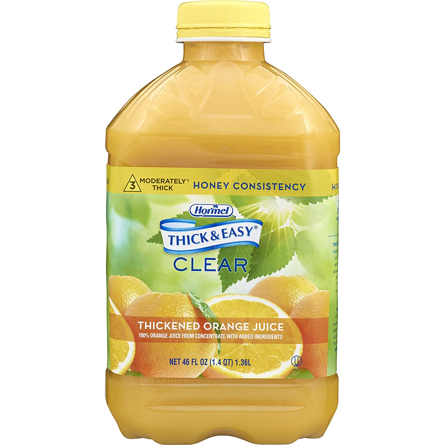Thick Easy Thickened Beverage 2021 new 46 Bottle Juice Flavo Orange Ranking TOP12 oz.