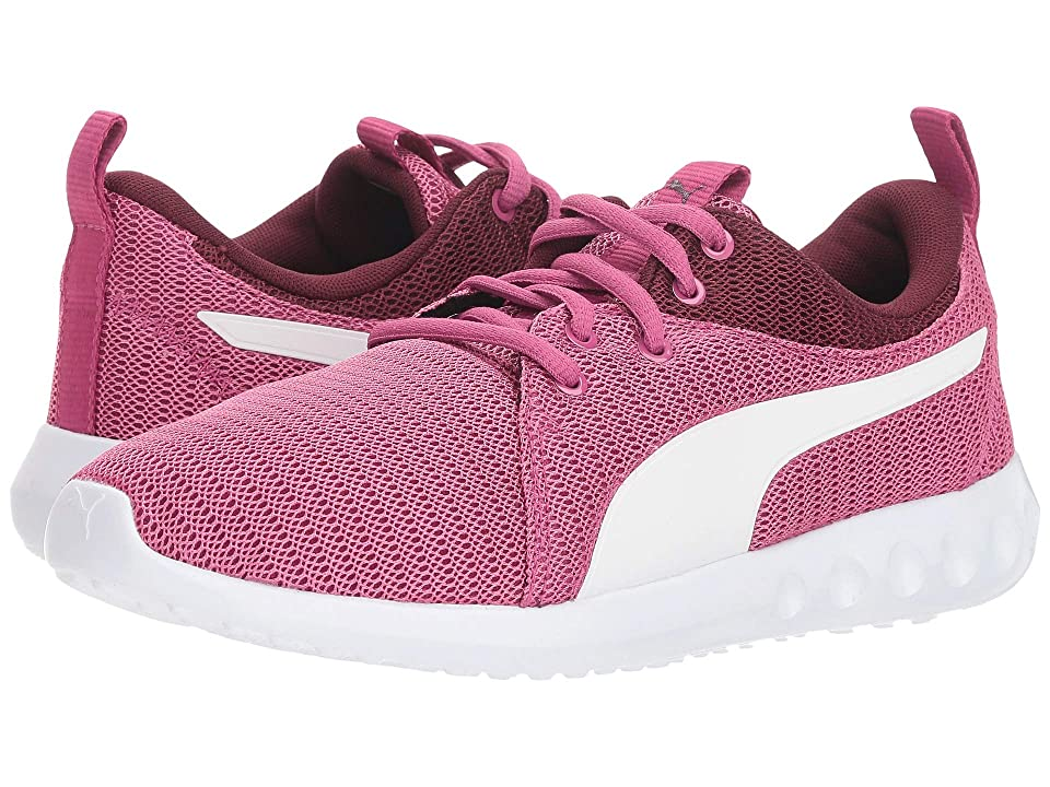 Puma Kids Carson 2 (Big Kid) (Magenta Haze/Fig/Puma White) Girls Shoes