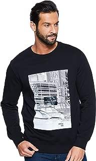 Calvin Klein Men's J30J309512-Black Sweatshirts