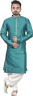 Men's Nehru collar style Jacquard kurta Salwar Pajama kameez Sherwani OUTFIT 810