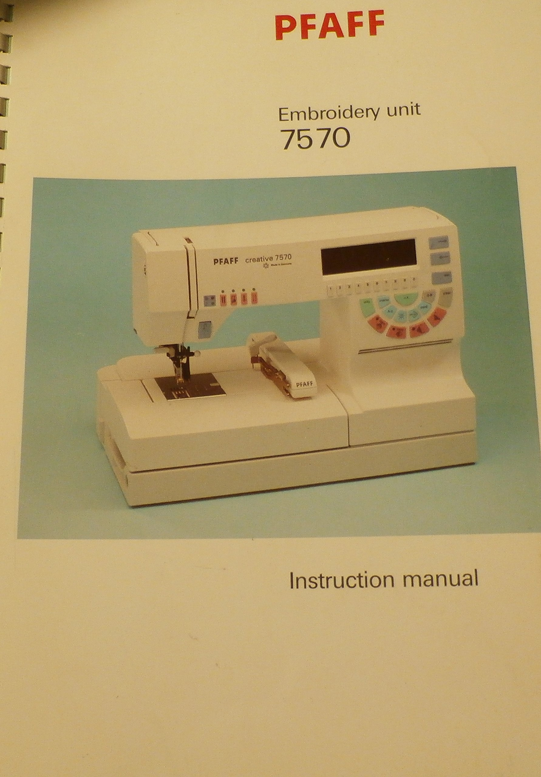 Embroidery Software Pfaff 7570 Free Embroidery Patterns