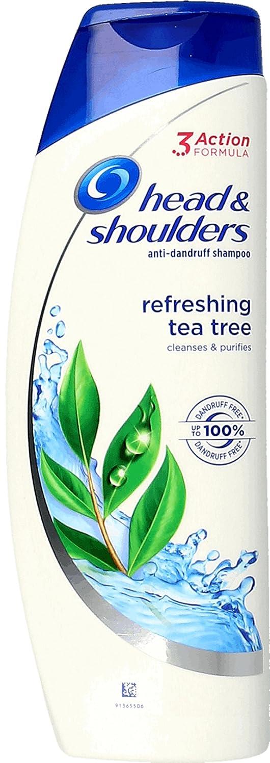 政治公平なグリーンバックHead & Shoulders Tea Tree Anti-Dandruff Shampoo 250ml ふけ防止シャンプー ティーツリー
