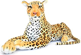 VIAHART Lahari The Leopard | 3 1/2 Foot (Tail Measurement not Included!) Big Stuffed Animal Plush Cat | Shipping from Texas | by Tiger Tale Toys