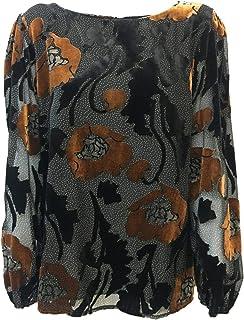 LA FEE MARABOUTEE Blusa Donna Fantasia MOD FB5214 Made in Italy