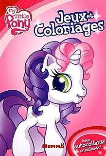 Bloc jeux et coloriages my little pony!