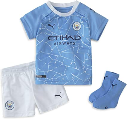 Amazon Com Puma Kids Manchester City Home Baby Kit 2020 2021 Clothing