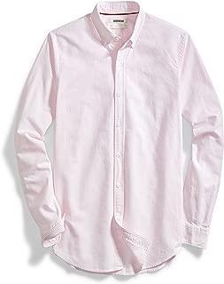 Amazon Brand - Goodthreads Men's Standard-Fit Long-Sleeve Stripe Oxford Shirt