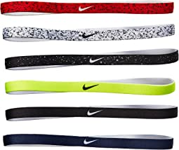 Printed Headbands Asst 6-Pack