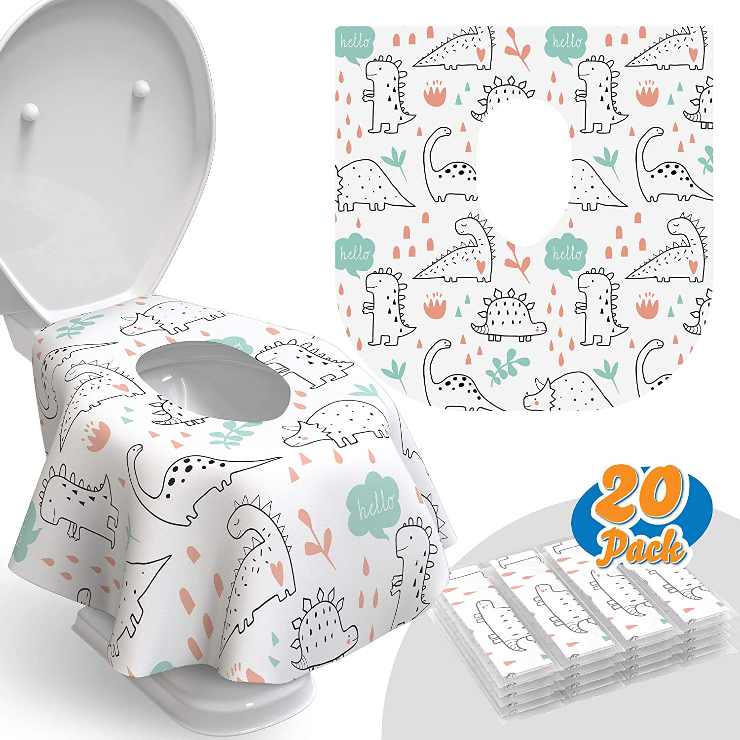Toilet Seat Be super welcome Covers Disposable - Max 80% OFF for Pack 20 Ideal Waterproof