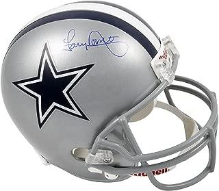 Tony Dorsett Dallas Cowboys Autographed Riddell Replica Helmet - Fanatics Authentic Certified - Autographed NFL Helmets