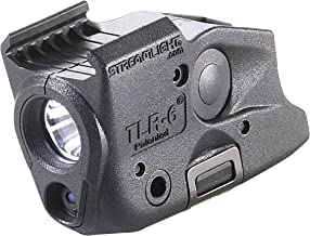 Streamlight 69290 TLR-6 Tactical Pistol Mount Flashlight 100 Lumen with Integrated Red Aiming Laser Designed Exclusively a...