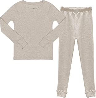 Popular Boy's Cotton Waffle Thermal Underwear Set
