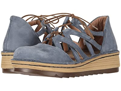 Naot Calathea (Feathery Blue Nubuck) Women
