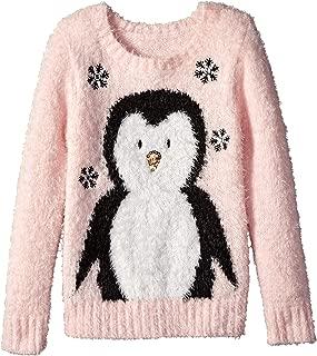 Blizzard Bay Girls Ugly Christmas Sweater Penguin