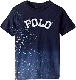 Polo Ralph Lauren Kids Paint-Splatter Cotton T-Shirt (Little Kids/Big Kids)