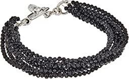 King Baby Studio - 8 Strand Spinel Bracelet w/ Mini Toggle Clasp