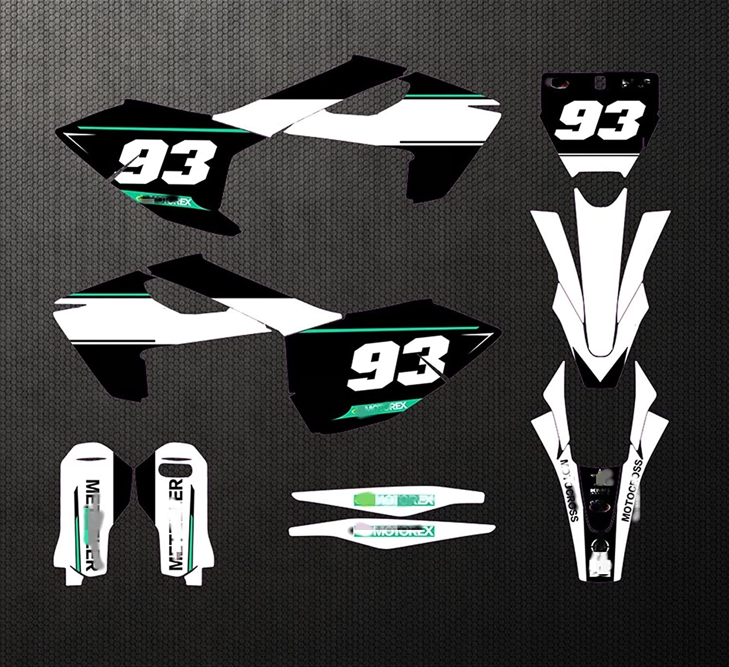 Lhtyouting CH0331F4-19 Customized 3M Stickers Motorcycle Super beauty product restock Max 45% OFF quality top Decals