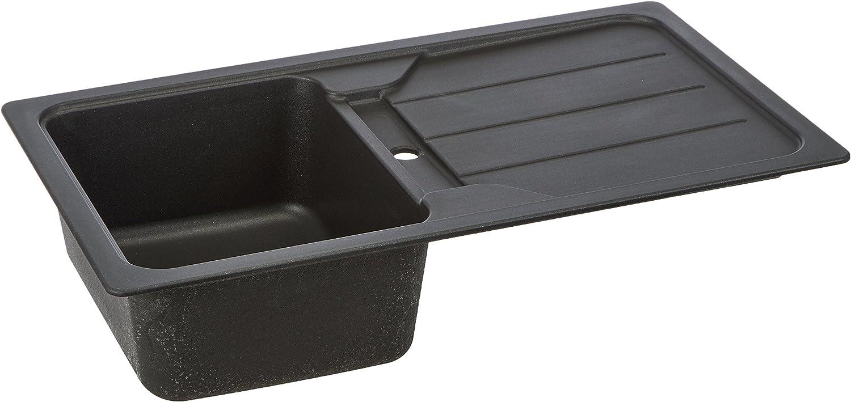 Schock Küchenspüle Formhaus D-100, Auflage in Onyx