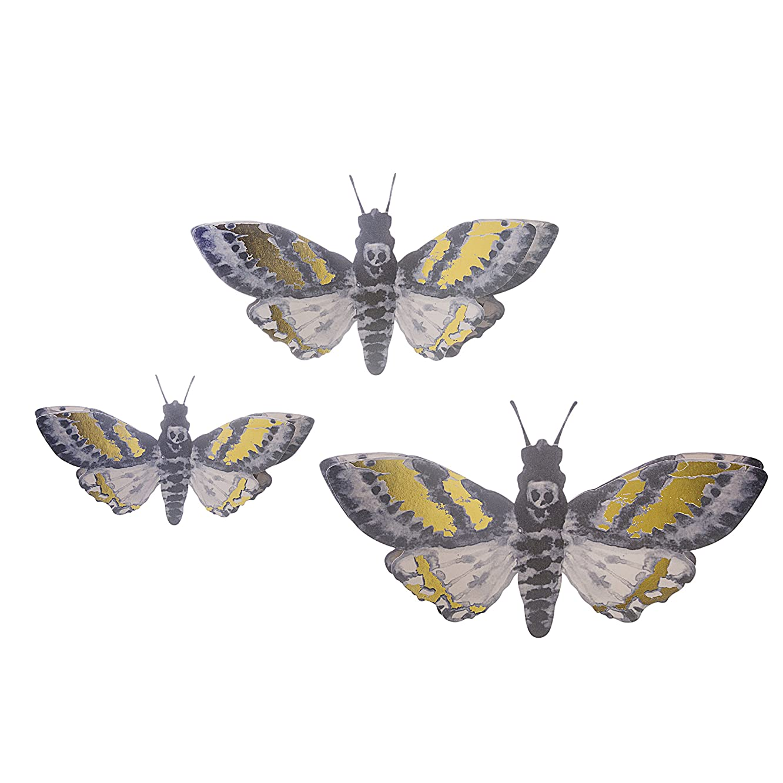 Martha Stewart Paper Moths Wall Décor