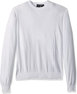 A|X Armani Exchange Men's Cotton Solid Pullover
