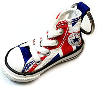 Key Chain All Star Chuck Taylor Sneaker Keychain Authentic (British Flag)