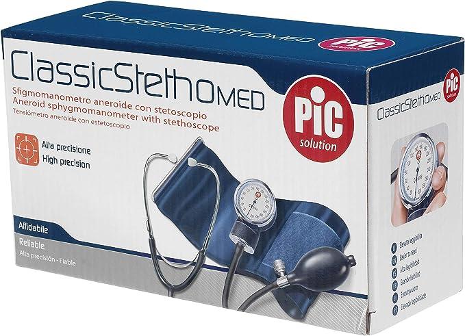807 opinioni per Pic Solution ClassicStethoMED- Misuratore di Pressione Aneroide Con Stetoscopio